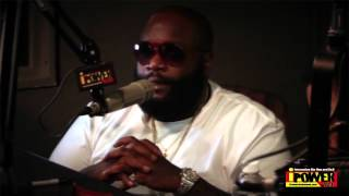 Rick Ross Interview - Part I @ iPower 92.1 FM / Sean Anthony - 7/16/12