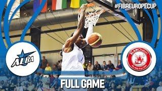 Alba Fehérvár (HUN) v Elan Chalon (FRA) - Full Game - FIBA Europe Cup 2016/17