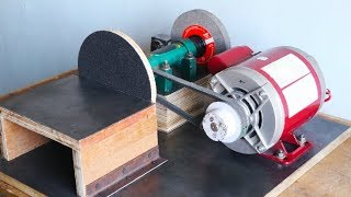 Make A Sander With Grinding Machine || 2 In 1 || Part 2