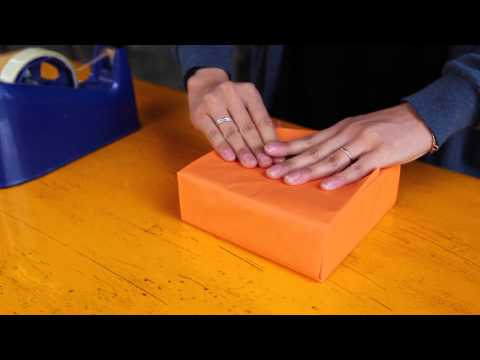 How to do a Japanese Gift Wrap