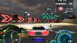 NFS Underground 2 : Online Races With FnF cars part 2