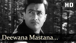 Bombai Ka Babu - Deewana Mastana Hua Dil Jaane - Mohd Rafi - Asha Bhonsle