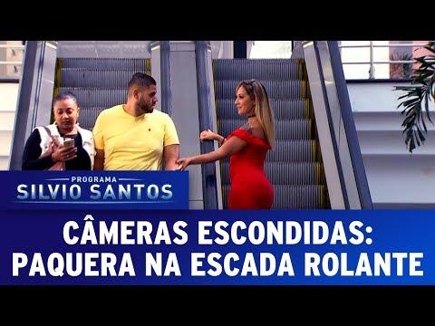 Paquera na Escada Rolante Love Escalator Prank Câmeras Escondidas 11 06 17