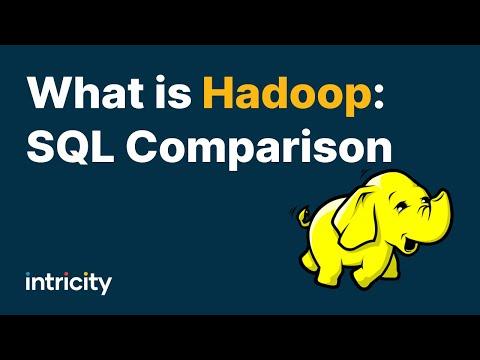 What is Hadoop?: SQL Comparison