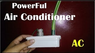 How To Make Air Conditioner (AC) At Home Easy Way