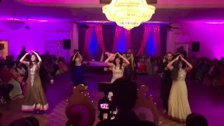 Best Bollywood Wedding Sangeet Dance Script! Naushin and Sohail