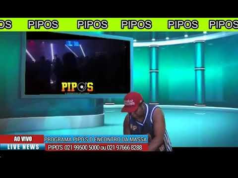 Pipos fez uma transmissão ao vivo agora record de audiencia...2019