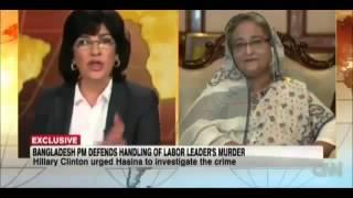 CNN com   Interview of Prime Minister Sheikh Hasina Bangladesh