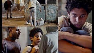 بلطجية يضربون أحمد داش علقة موت ويسرقونه بعد هروبه من البيت #سقوط_حر
