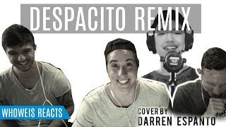 Despacito Remix Cover by Darren Espanto   Reaction