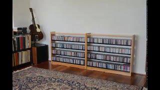 DIY CD Rack