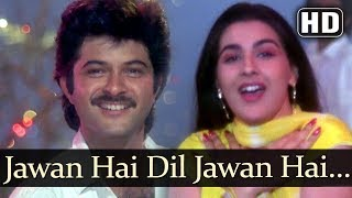 Jawan Hai Dil Jawan Hai (HD) - Saaheb Song - Anil Kapoor - Amrita Singh