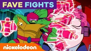 Favorite Fights Hosted by Mikey 👊  Rise of the TMNT | #TurtlesTuesday