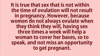 HOW TO GET PREGNANT II कैसे हों गर्भवती II