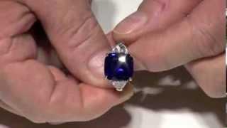Kashmir Sapphire - Pink Sapphire - Colombian Emerald - Alexandrite from Rau Antiques