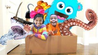 Bad Baby SURPRISE TOY UNBOXING ADVENTURE! Shiloh and Shasha - ONYX KIDS