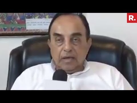 Subramanian Swamy Reacts On Ram Rahim's Jail Sentence