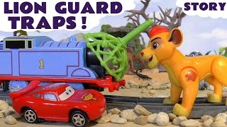 Disney Cars and Lion Guard Toys with Thomas and Friends Episode Family Fun Kids Toy unboxing review