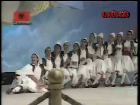 Albanian Folk Dance Vallja e Burrave