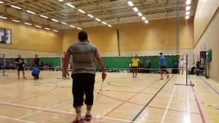 Luton tournament 2nd round match jamil & jewel v Ali Asgor & partner