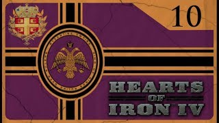 Hearts of Iron IV Byzantine Challenge - Fascist Greece #10 - Tread On Trebizond