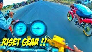 MP KUMARA RISET GEAR!! Begini Kalo Gear Belakang Kekecilan