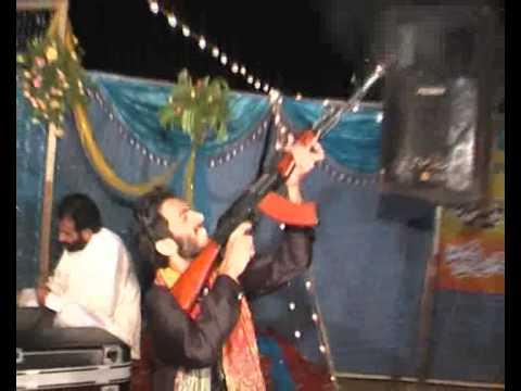 Wedding Firing Sargodha. Chak 47 Shoaib Kharal