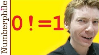 Zero Factorial - Numberphile
