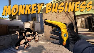 CS:GO - Five-SeveN | Monkey Business Gameplay