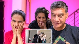 MY PARENTS REACT TO ME KISSING A GIRL