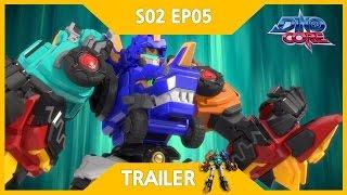 [DinoCore] Trailer   A Real Dino Master   Robot Dinosaur Korean Animation   Season 2 EP05