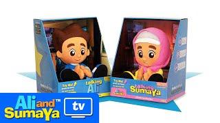 Ali and Sumaya: Soft Toys