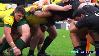 2018 Schools Tri-nations: Australia vs New Zealand