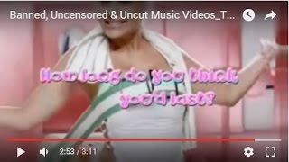 Banned, Uncensored & Uncut Music Videos_T28