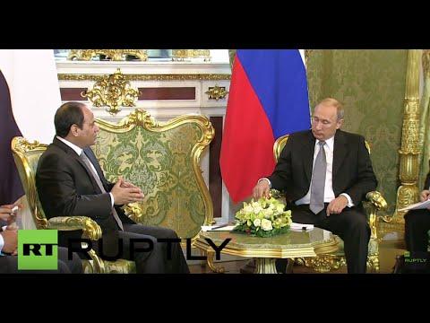 Russia: Putin talks bilateral ties with Egyptian President el-Sisi