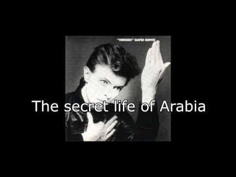 The Secret Life of Arabia | David Bowie + Lyrics