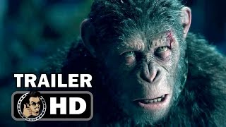 WAR FOR THE PLANET OF THE APES Official Trailer #2 (2017) Andy Serkis Sci-Fi Action Movie HD