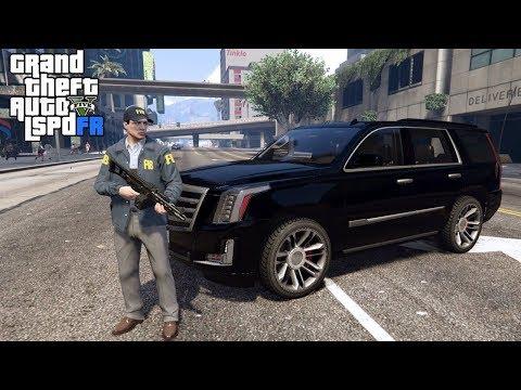 GTA 5|LSPDRF #112|INVESTIGACION DEL FIB - FBI EN GTA V - ESCALADE |EdgarFtw