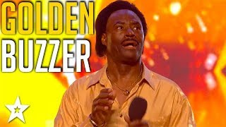 GOLDEN BUZZER Singer Shows Judges How To Wiggle and Wine on Britain