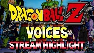 Dragon Ball Z Voices! (Stream Highlight)