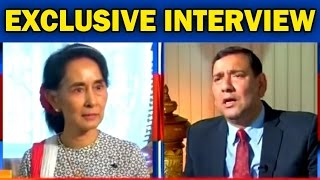 Myanmar's Aung San Suu Kyi Speaks On Terrorism - Exclusive