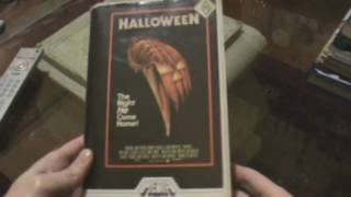 Halloween - Old VHS & DVD Tins