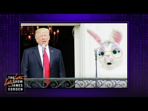 The White House Easter Bunny Said it All