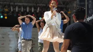 Ariana Grande- Born This Way/ Express Yourself Macy's Summer Blowout