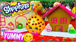 Shopkins Sweets Shop Candy Gingerbread House