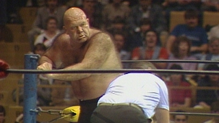 "George ""The Animal"" Steele vs. Matt Borne: Prime Time Wrestling, June 18, 1985"