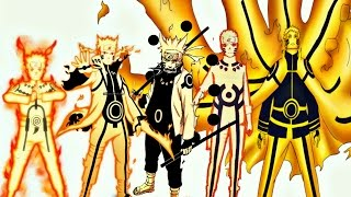 Top 20 Strongest Naruto Uzumaki Forms,Modes | 2016