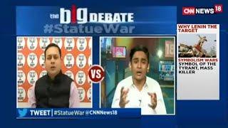 Wali Rahmani blasting Amit Malviya on Live debate | CNN News 18