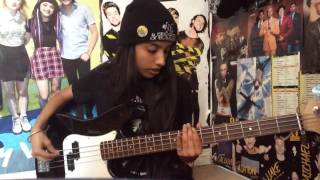 Don't Stop - 5sos - bass cover // Wasteland Antics
