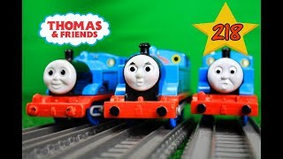 THOMAS AND FRIENDS THE GREAT RACE #218 TrackMaster Thomas the Train|Thomas & Friends video for kids